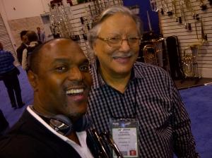 Jon Barnes and Arturo Sandoval